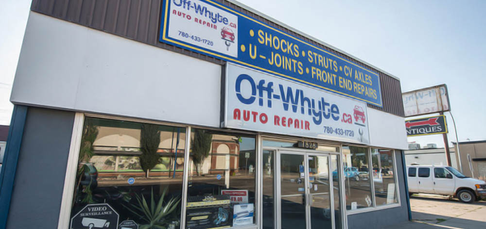 Our garage shop is located in Edmonton, Old Strathcona, the edge of Calgary Trail, 4 blocks south of Whyte ave,